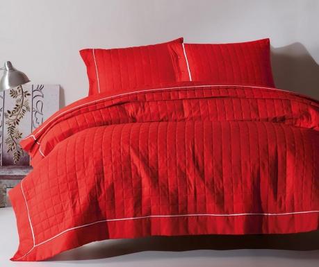 Комплект ватирана кувертюра Double Duzboya Red