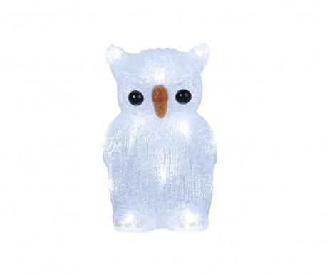 Светеща декорация White Owl