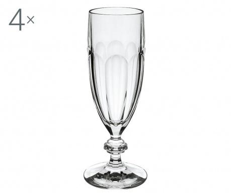 Сервиз 4 чаши за шампанско Bernadotte 200 мл
