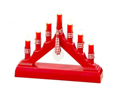 Decoratiune luminoasa Pyramid Red