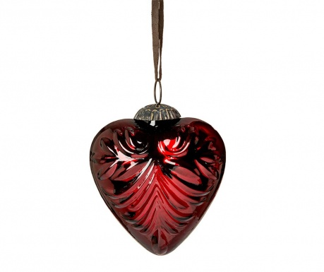 Kroglica Heart Dark