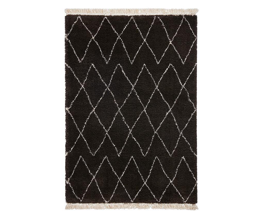 Covor Boho Diamond Brown & White 120x170 cm