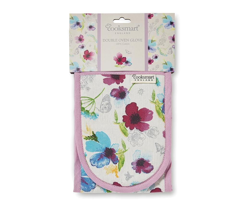 Dvojna kuhinjska rokavica Chatsworth Floral