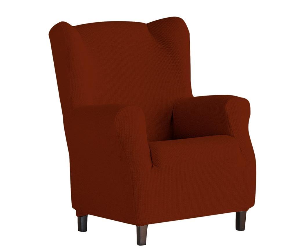 Husa elastica pentru fotoliu Dorian Dark Orange