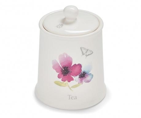 Recipient cu capac pentru ceai Chatsworth Floral