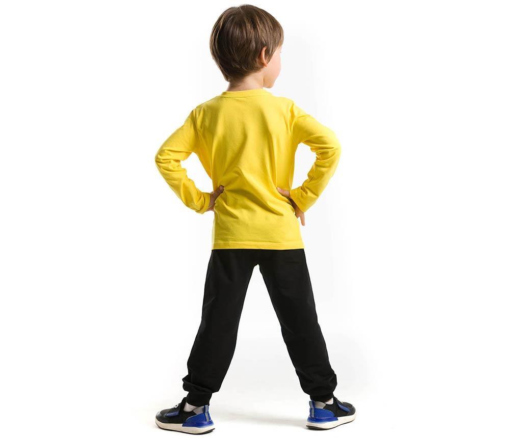 Set bluza si pantaloni copii Pirate Emoji 3 ani