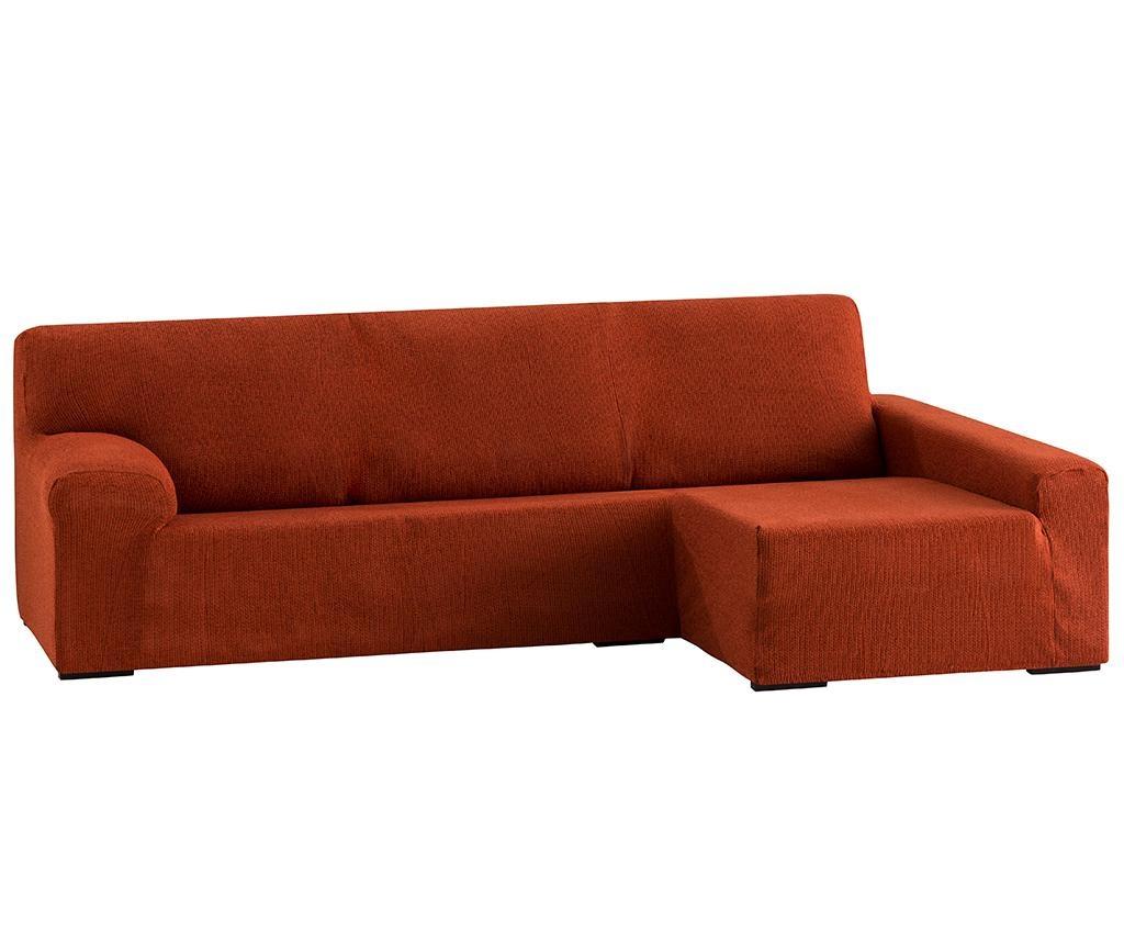 Dorian Dark Orange Elasztikus huzat jobboldali sarokkanapéra