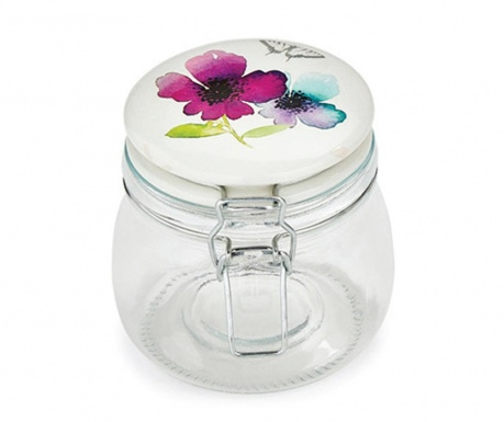 Chatsworth Floral Befőttesüveg fedővel 500 ml