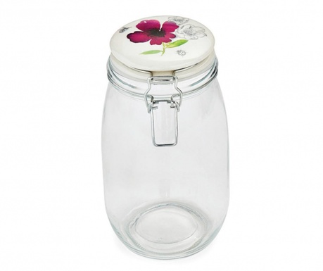 Chatsworth Floral Befőttesüveg fedővel 1.5 L