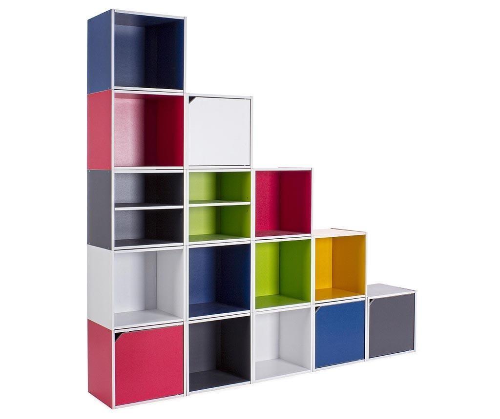 Modularni element Cube Door White