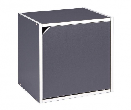 Półka modułowa Cube Door Grey