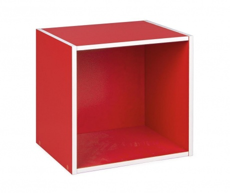 Modularna polica Cube Red