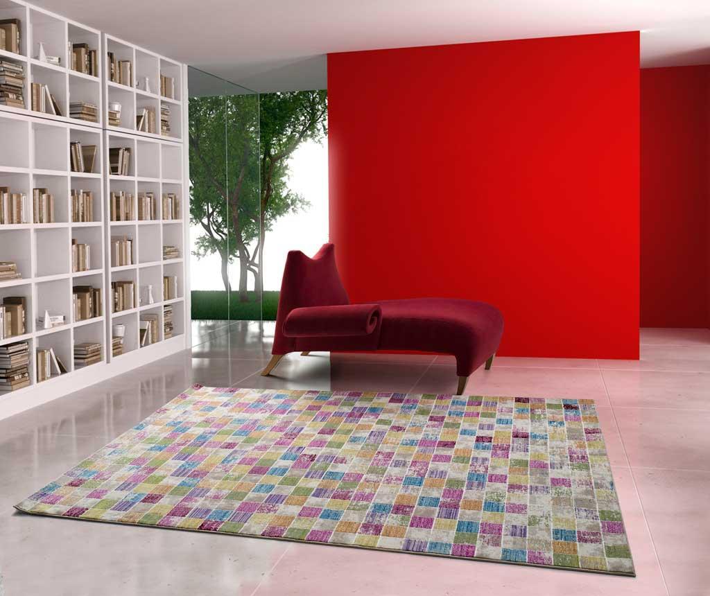 Covor Ikat Mosaic 80x150 Cm - Universal Xxi, Multicolor
