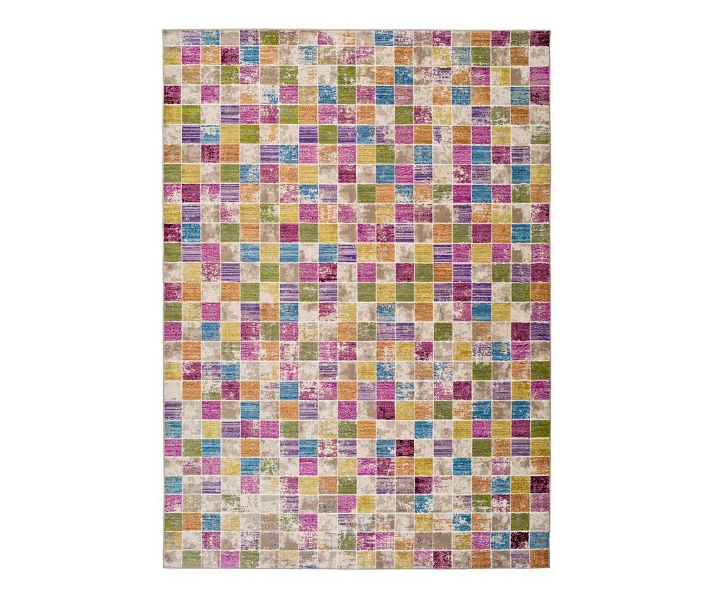 Covor Ikat Mosaic 133x190 Cm - Universal Xxi, Multicolor
