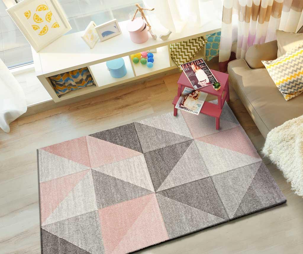Covor Naia Pink 160x230 Cm - Universal Xxi, Roz