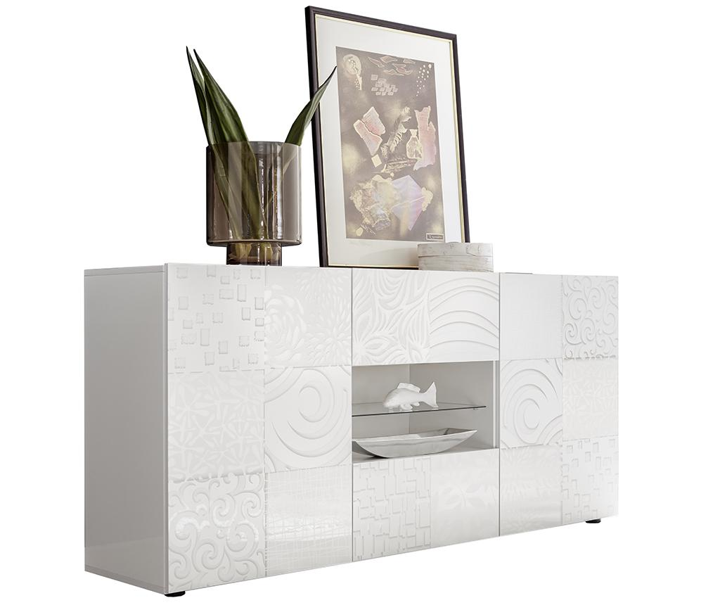 Bufet inferior Blossom One White - TFT Home Furniture, Alb