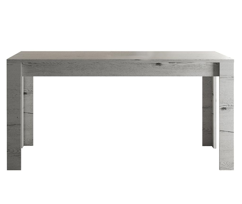 Masa extensibila Neve - TFT Home Furniture, Gri & Argintiu