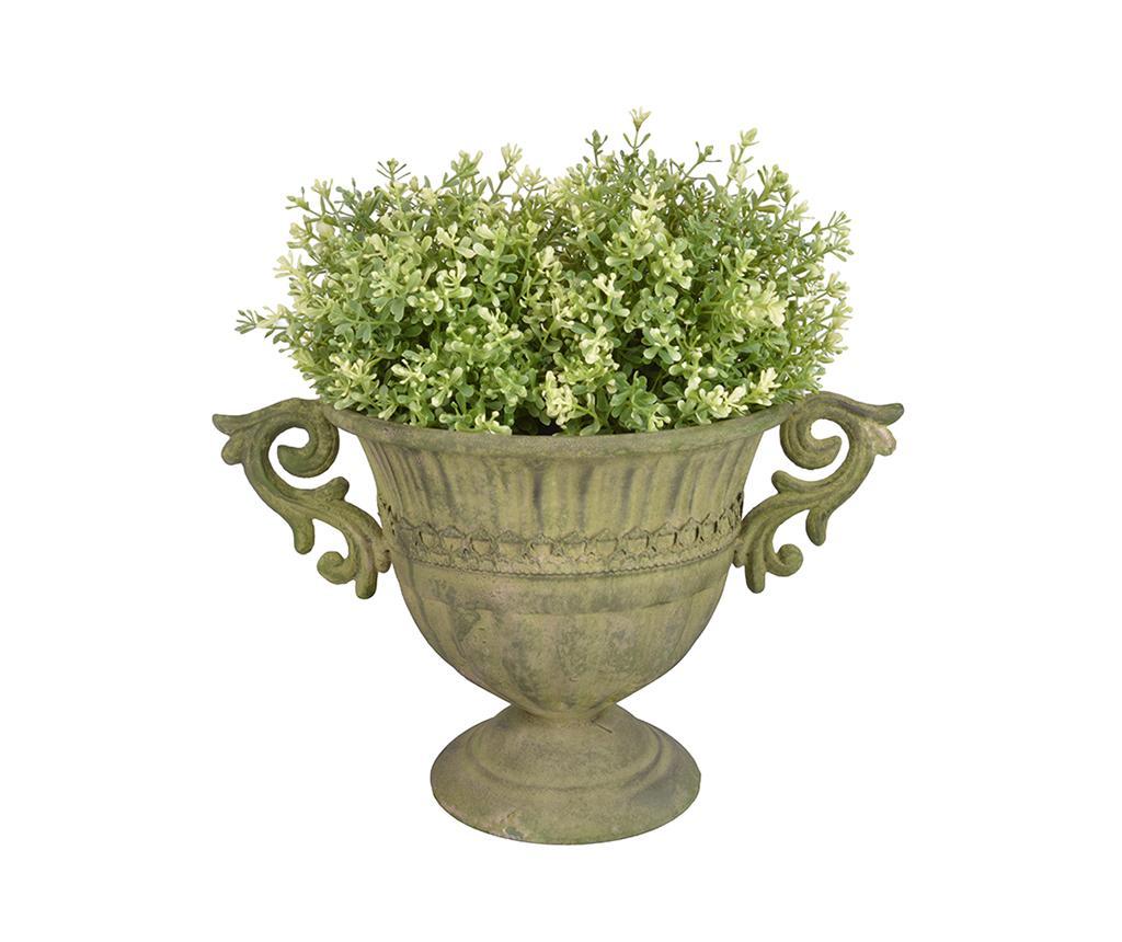 Ghiveci Esteban Round - Esschert Design, Verde
