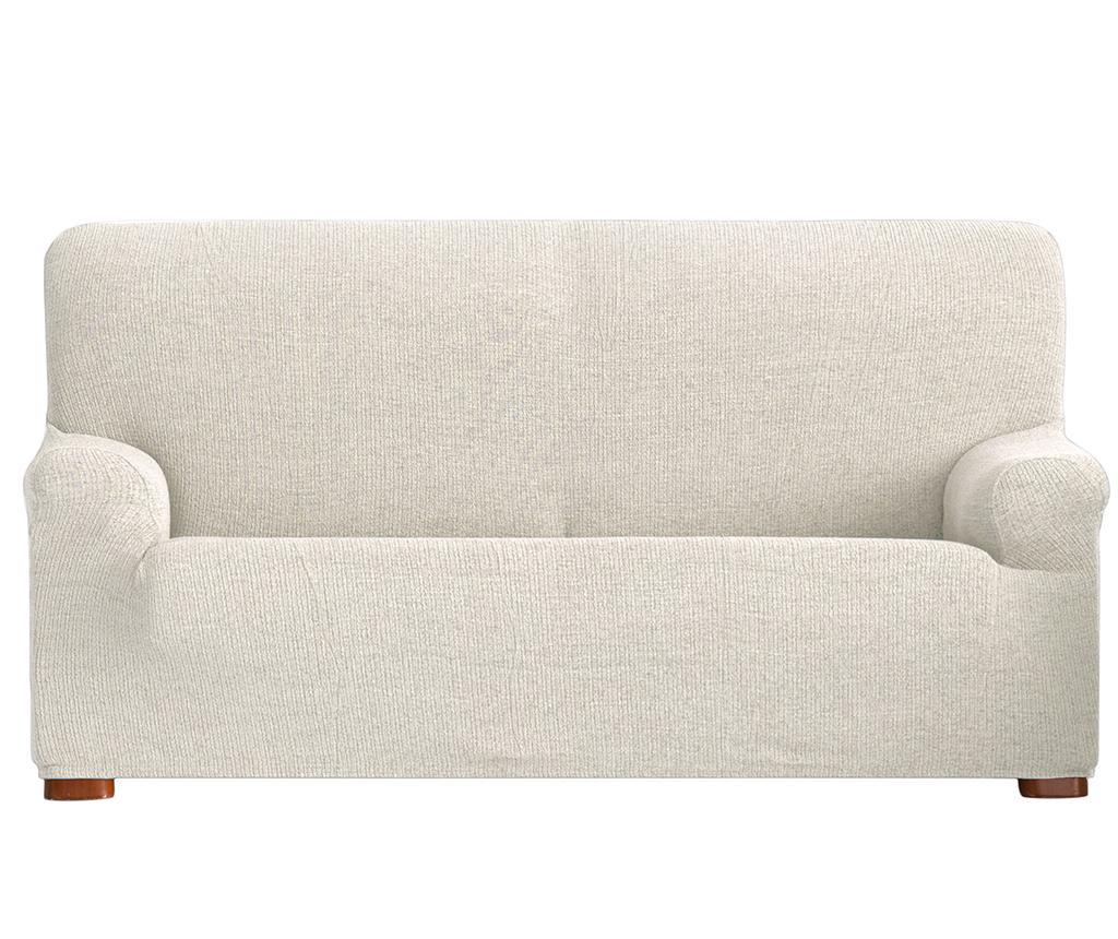 Husa elastica pentru canapea Dorian Ecru 180-210 cm - Eysa, Crem