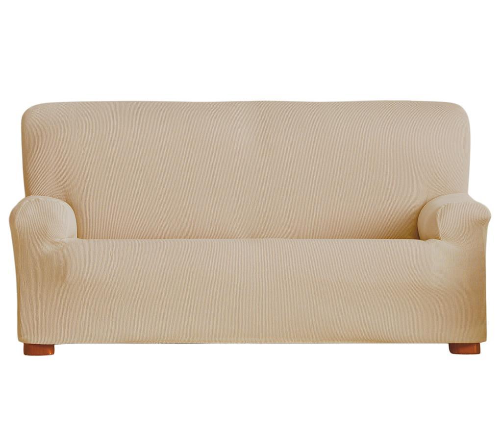 Husa elastica pentru canapea Ulises Beige 210-240 cm - Eysa, Crem