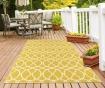 Tepih Interlaced Yellow 133x190 cm