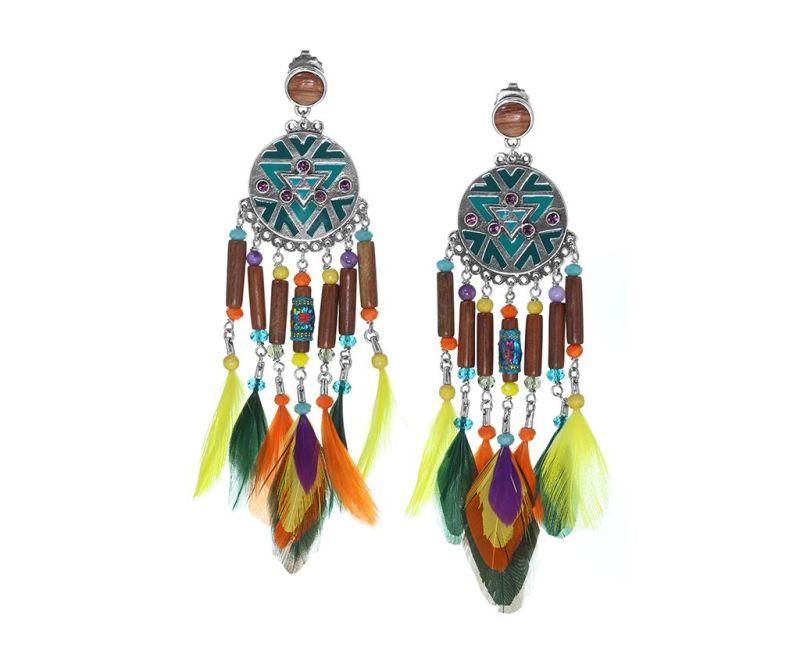 Cercei Kimya Feathers Long