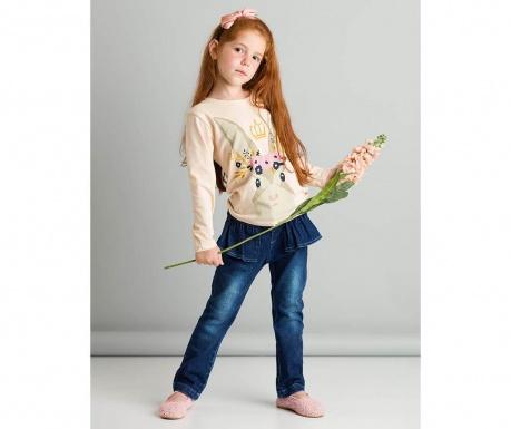 Set bluza si pantaloni copii Royal Bunny 7 ani