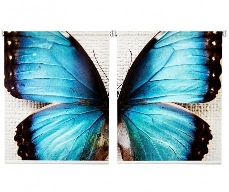 Set 2 rolo zaves Butterfly 100x200 cm