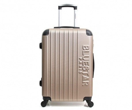 Bucharest Champagne Gurulós bőrönd 30.4 L