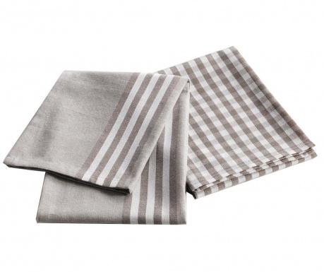 Комплект 2 кухненски кърпи Double 50x70 см