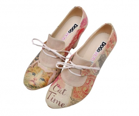 Pantofi dama Vintage Cat
