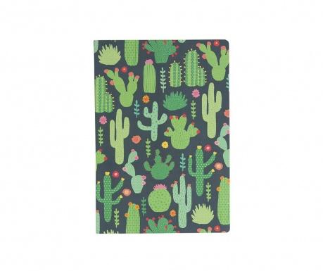 Beležka Colourful Cactus A5