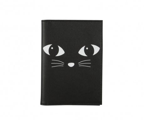 Ovitek za potni list Black Cat