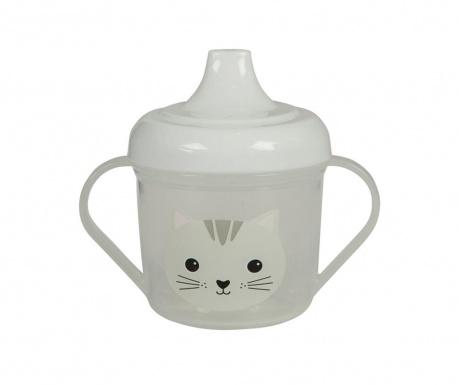 Otroška skodelica s pokrovom Nori Cat