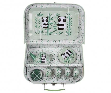 Set igrač - piknik škatla z dodatki Aiko Panda
