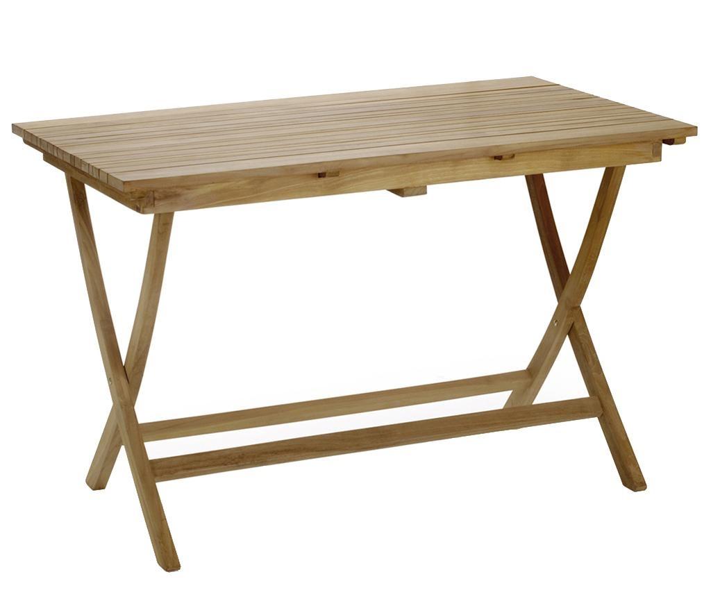 Zložljiva vrtna miza Irregular Slat