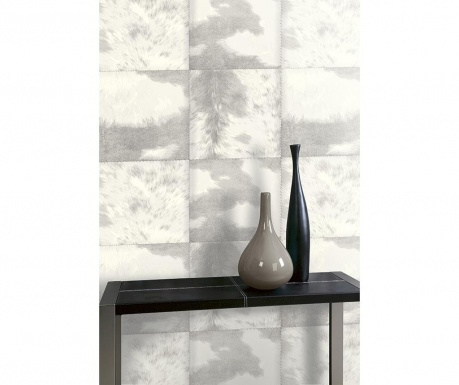 Stenska tapeta Hideaway Grey 53x1005 cm