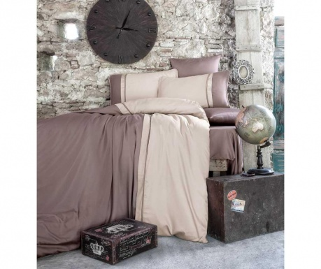 Posteljina King Satin Supreme Kharma Brown