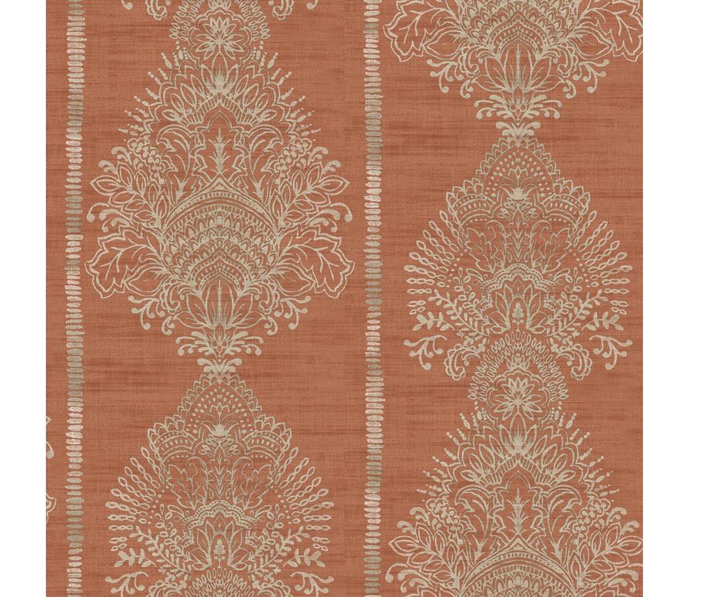 Silk Road Terracotta Tapéta 53x1005 cm