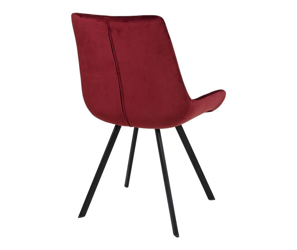 Set 2 scaune Drammen Velvet Red