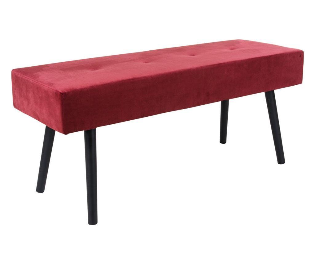 Bancheta Skiby Velvet Red