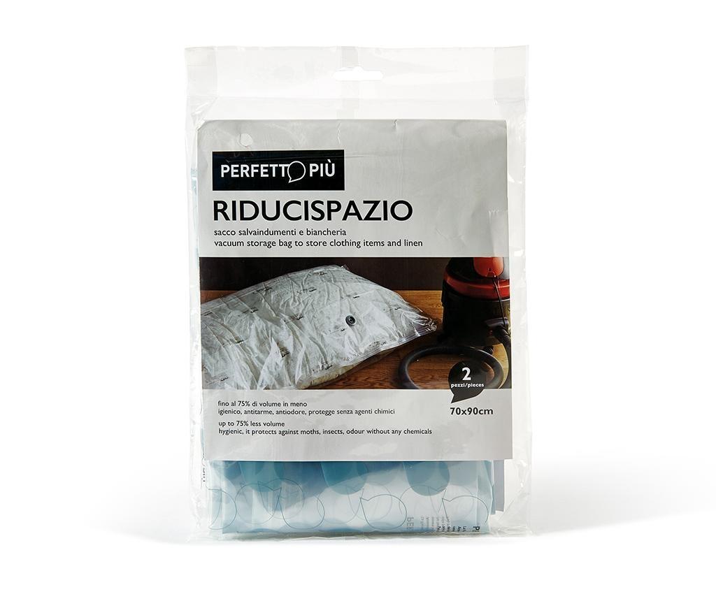 Set 2 vakuumsko tesnilnih vreč Riducispazio Blue 50x70 cm