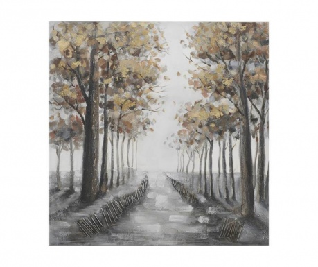 Obraz Road Of Trees 100x100 cm