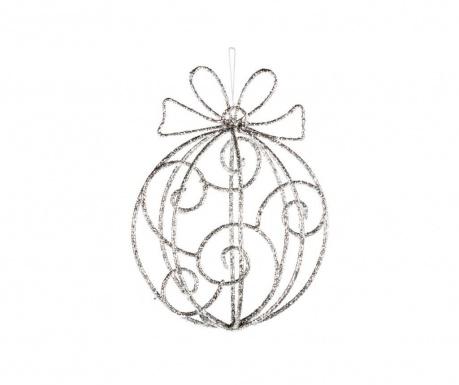 Κρεμαστό διακοσμητικό Silver Bow