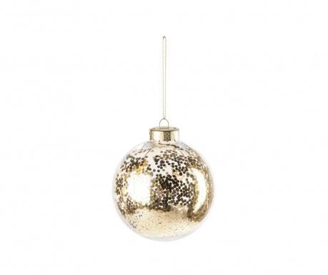 Διακοσμητική μπάλα Sparkle Gold
