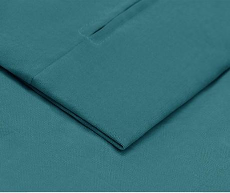 Husa pentru canapea extensibila 3 locuri Helene Turquoise 100x194 cm