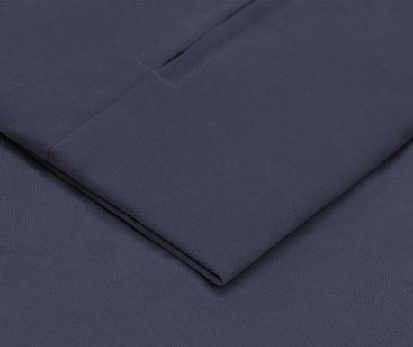 Husa pentru taburet pentru picioare Jean Dark Blue 58x78 cm