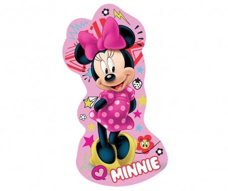 Minnie Mouse Pink Díszpárna 19x35 cm