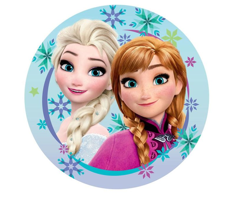 Perna decorativa Frozen Sisters 33 cm