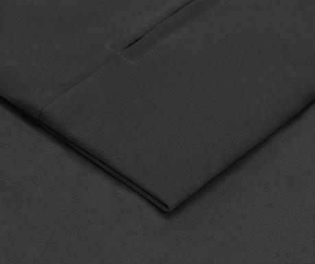 Navlaka za kauč trosjed na razvlačenje Morgane Dark Grey 90x192 cm